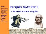 Euripides Medea Part 1
