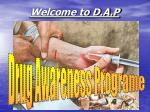 Welcome to D.A.P
