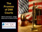 The Promise of DWI Courts