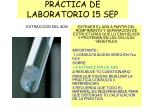 PRÁCTICA DE LABORATORIO 15 SEP