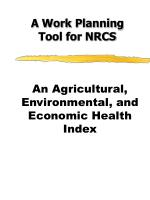 An Agricultural, Environmental, and Economic Health Index