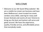 Mr Quick Whip ice cream