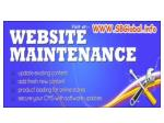 website maintenance services india