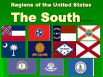 Regions of the United States The South