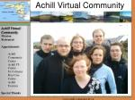 Achill Virtual Community