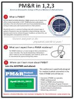 What is PM&R?