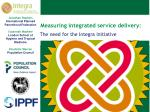 Measuring integrated service delivery :