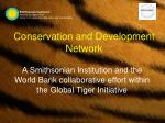 Conservation and Development Network