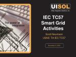 IEC TC57 Smart Grid Activities