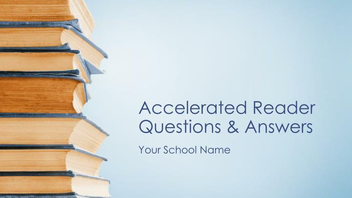 accelerated reader questions answers n.