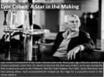 Lyor Cohen: A Star in the Making