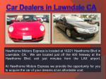 Used Cars Lawndale Ca
