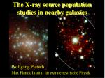 The X-ray source population studies in nearby galaxies