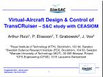 Virtual-Aircraft Design & Control of  TransCRuiser – S&C study with CEASIOM