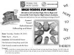 Date : Tuesday, October 29, 2013 Time : 6 p.m. – 8 p.m. Location : 424 Westfield Street