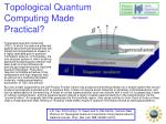 Topological Quantum Computing Made Practical?