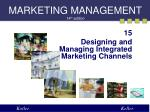 MARKETING MANAGEMENT 1 4 th edition