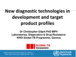Implementing HIV and TB Diagnostics in Resource