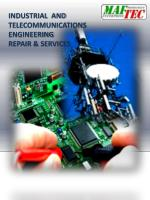 INDUSTRIAL AND TELECOMMUNICATIONS ENGINEERING REPAIR & SERVICES