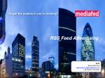 RSS Feed Advertising