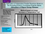 Method based on Linear Increase of Temperature T=at