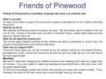 Friends of Pinewood