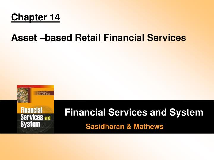 chapter 14 asset based retail financial services n.