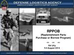 RPPOB (Replenishment Parts Purchase or Borrow Program)