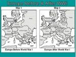 Europe Before & After WWI