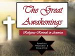 The Great Awakenings