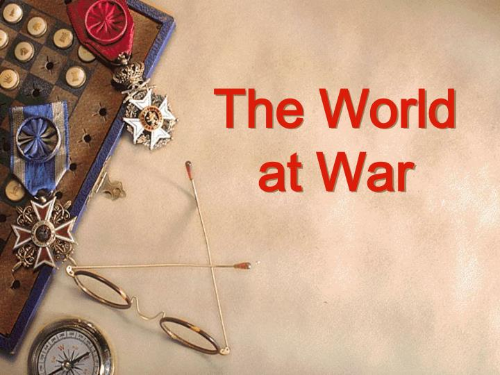 the world at war n.