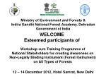 Ministry of Environment and Forests & Indira Gandhi National Forest Academy, Dehradun