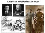 American Involvement in WWI