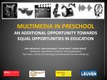 Multimedia as a means of communication for children