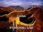 CHINA BY MICHAEL 5/6D