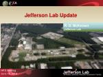 Jefferson Lab Update