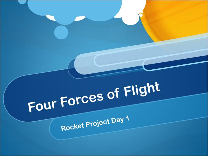 four forces of flight n.