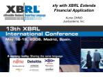 xfy with XBRL Extends Financial Application Kunio OHNO Justsystems, Inc.