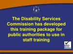 About Disability
