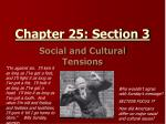 Chapter 25: Section 3