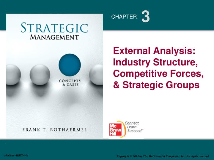 external analysis industry structure competitive forces strategic groups n.