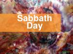 Sabbath Day