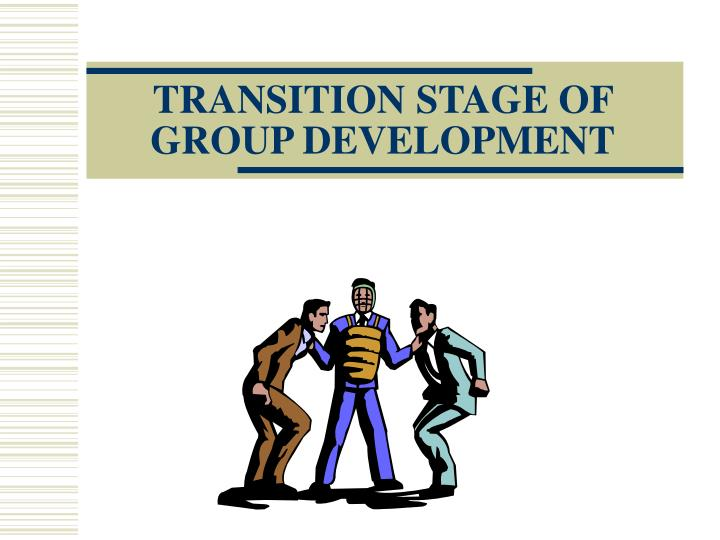 transition stage of group development n.
