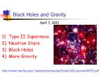 Black Holes and Gravity