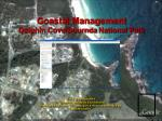 Coastal Management Dolphin Cove/ Bournda  National Park