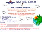 Date:  May 20, 2007 Location:  Forest Lake Golf Club Time:  9:00am Fee:  $90.00 per person