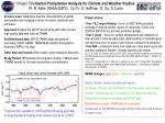 Project Title: Global Precipitation Analysis for Climate and Weather Studies