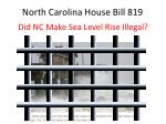 North Carolina House Bill 819
