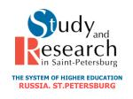 THE SYSTEM OF HIGHER EDUCATION RUSSIA .  ST.PETERSBURG