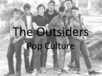 The Outsiders Pop Culture